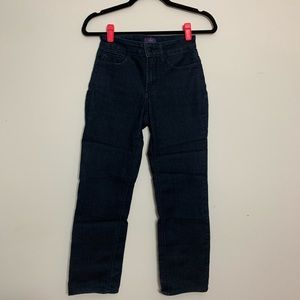 NYDJ Jeans - NYDJ Marilyn Straight Jeans, Size 00 Petite